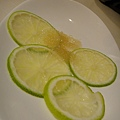 餐後檸檬片