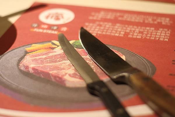 12oz以下、以上之牛排刀