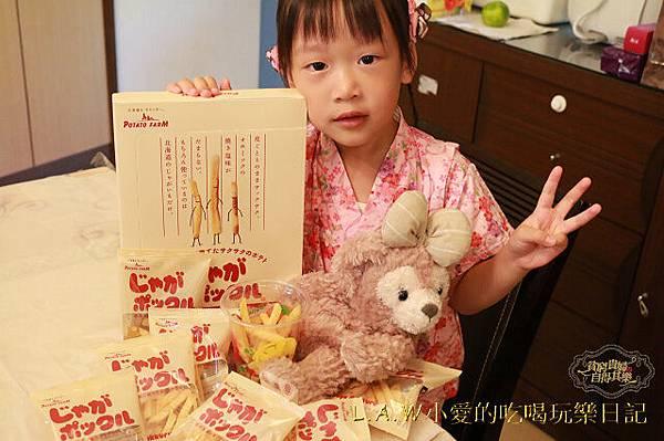 20151018@樂天日本直送美食薯條 三兄弟六花亭-05.jpg