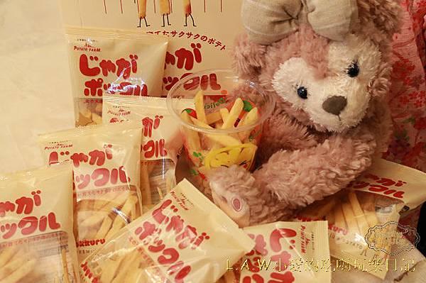20151018@樂天日本直送美食薯條 三兄弟六花亭-06.jpg