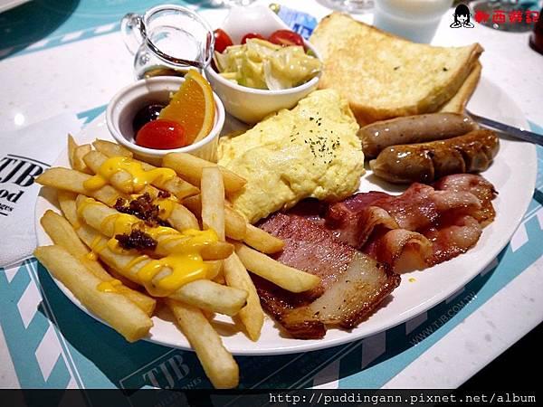 P1360132TJB綜合肉早餐 310.JPG
