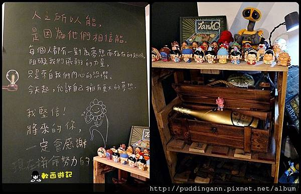 [食記]台北松江南京站 TankQ Cafe & Bar 可愛招牌手提箱早午餐 創意工具箱美式漢堡 濃濃工業風餐廳 小小兵/玩具總動員/怪獸電力公司