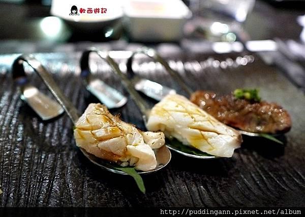 P1520305海鱺魚紅甘魚和牛要從左到右吃味道淡到重.JPG