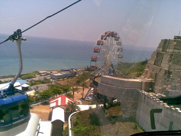 花蓮海洋公園-05 纜車隨手拍