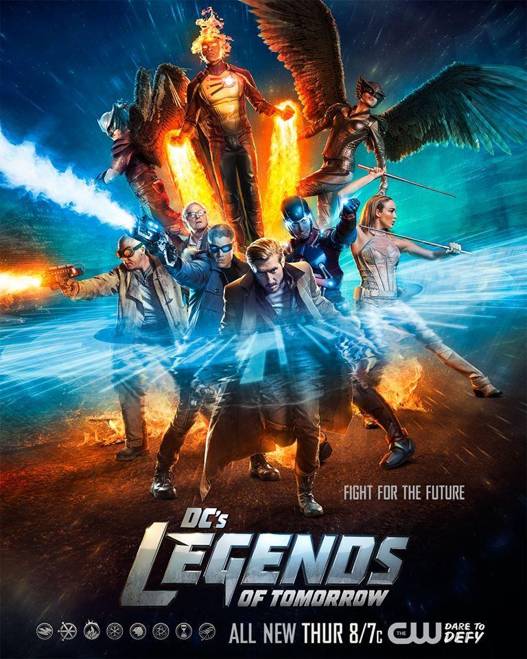 《明日傳奇》Legends Of Tomorrow 歐美影集檔案002