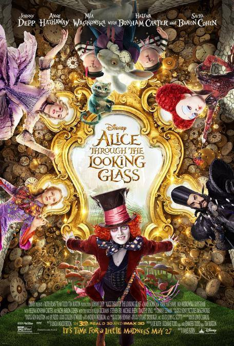 《魔境夢遊:時光怪客》Alice Through the Looking Glass 歐美影集檔案002