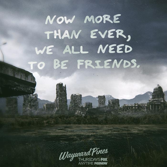 《黑松林 黑松鎮 陰松林》Wayward Pines 歐美影集檔案003