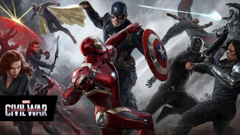 《美國隊長3:英雄內戰》Captain America Civil War 歐美影集檔案017