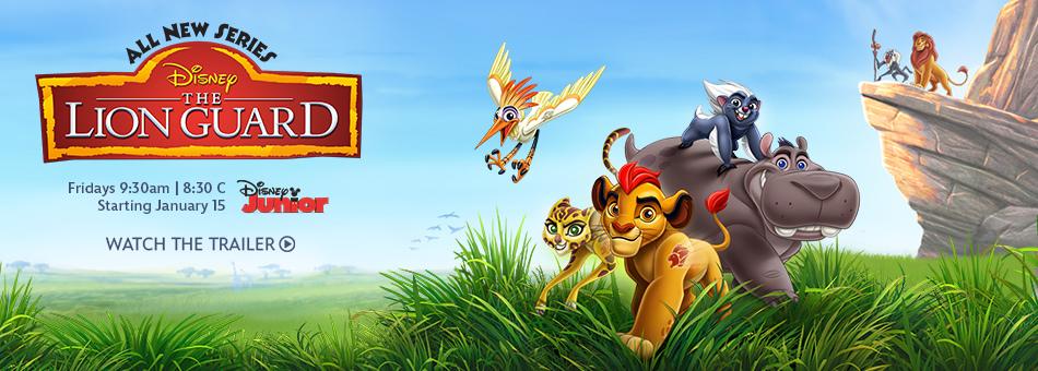 《獅子守衛》The Lion Guard 歐美影集檔案001