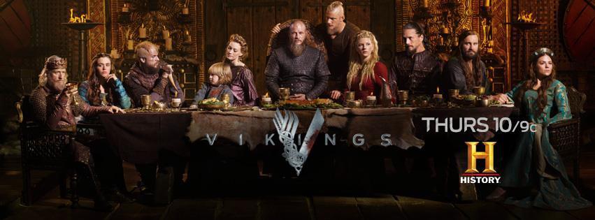 《維京傳奇》Vikings 歐美影集檔案001