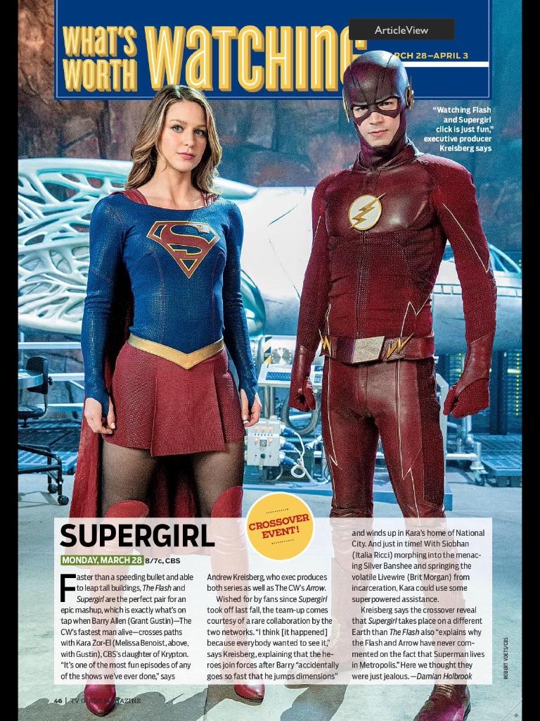 《閃電俠》The Flash 《超女》Supergirl 歐美影集檔案024