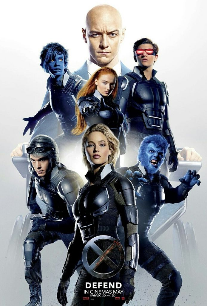 《X戰警:天啟》X-Men Apocalypse 歐美影集檔案012