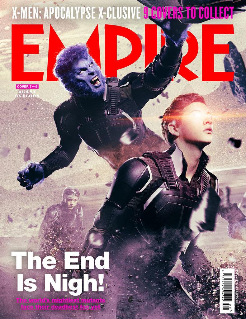 《X戰警:天啟》X-Men Apocalypse 歐美影集檔案008
