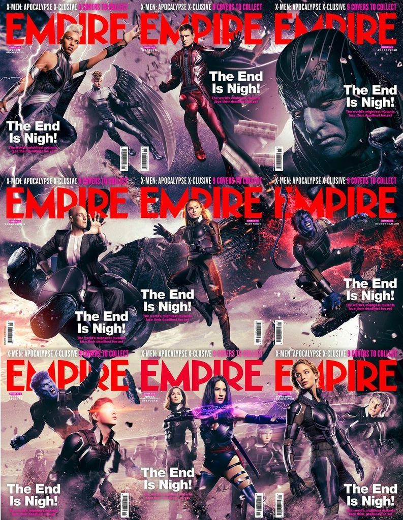 《X戰警:天啟》X-Men Apocalypse 歐美影集檔案011