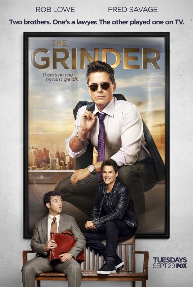 《律師兄弟》The Grinder 歐美影集檔案001