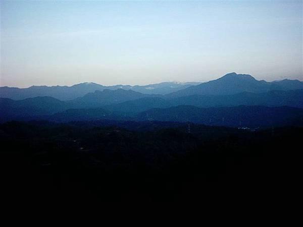 三峰路的稜線風景