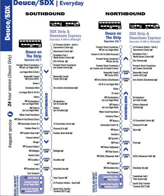 一教就上手的拉斯維加斯交通工具@ 免子不吃蘿蔔腿:: on las vegas deuce route, double-decker bus vegas map, vegas deuce route map, las vegas maps printable, las vegas deuce schedule, vegas strip map, las vegas bus,