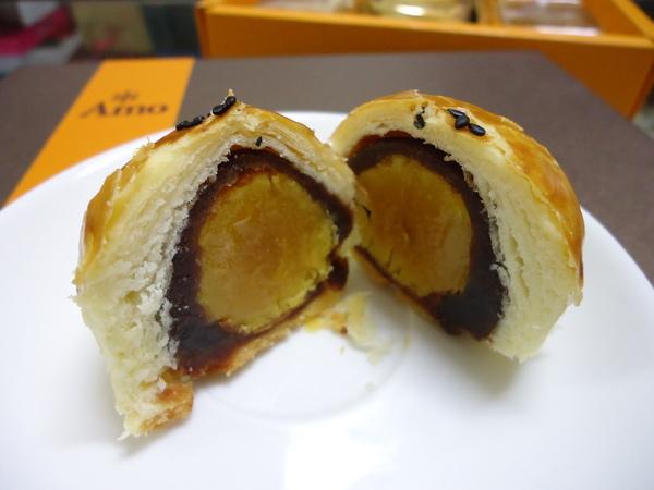 Amo阿默典藏蛋糕(台中門市):【試吃】Amo阿默小團圓禮盒~~酥的蛋黃酥