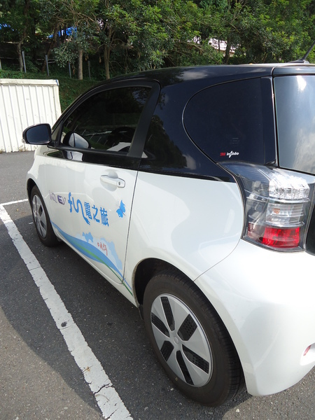 和運租車(日月潭水社站):【日月潭】搭上TOYOTA電動車~來個日月潭FUN電之旅吧
