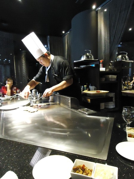 凱焱鐵板燒:【台中】五星級鐵板燒料理~凱焱鐵板燒