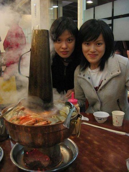新店山東餃子館---酸菜白肉鍋