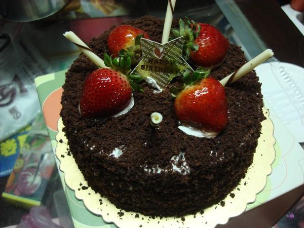 生日蛋糕。
