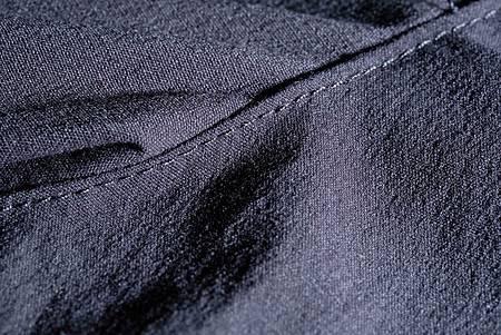 吸濕排汗的布料表面