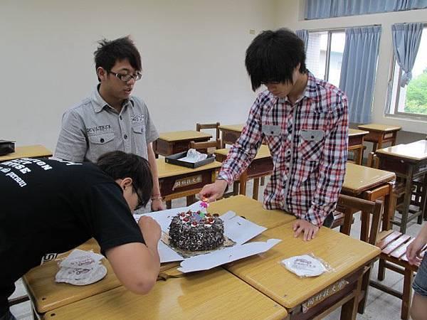 """謝謝你們的蛋糕:"""")"""