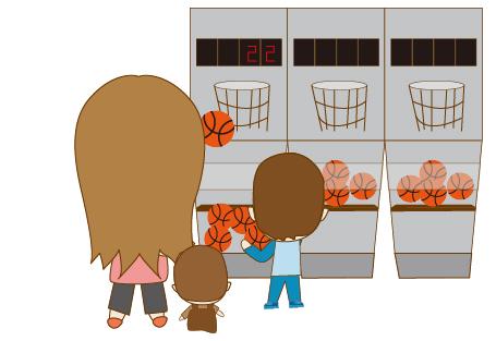 大賣場籃球機4