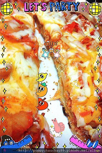 pizza大道!