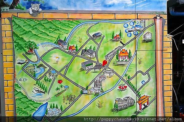 內城社區手繪地圖