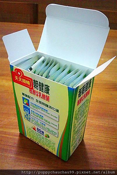 每朝健康植酵素(打開盒子)