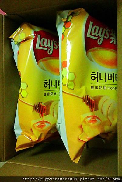 樂事蜂蜜奶油口味洋芋片-1