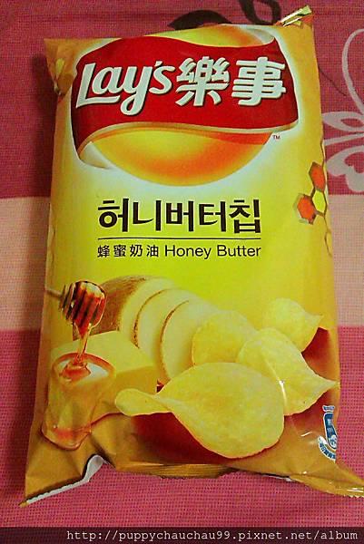 樂事蜂蜜奶油口味洋芋片(正面)
