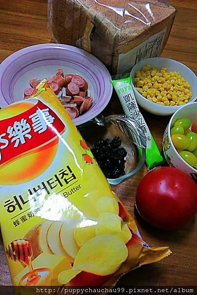 樂事蜂蜜奶油口味洋芋片其他吃法(沙拉材料)