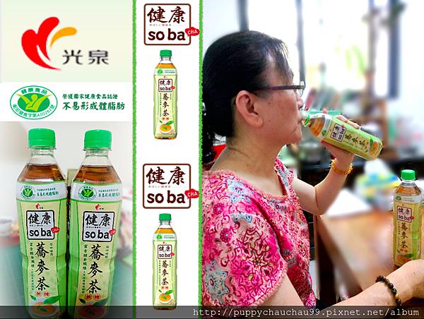光泉健康soba CHA蕎麥茶(1)
