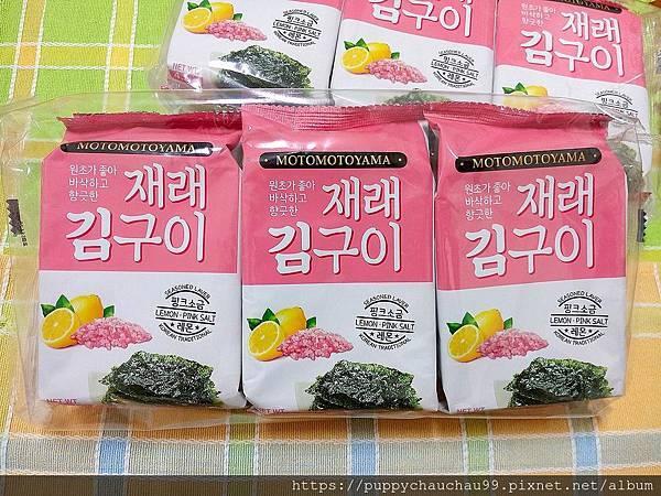 MOTOMOTOYAMA朝鮮海苔--檸檬玫瑰鹽風味:柚香風味(5).jpg