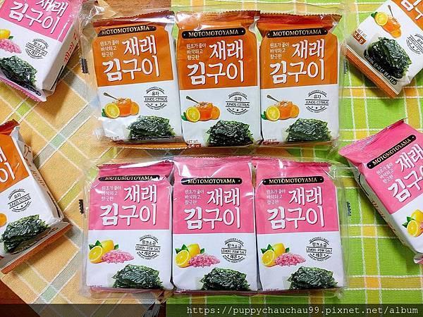 MOTOMOTOYAMA朝鮮海苔--檸檬玫瑰鹽風味:柚香風味(1).jpg