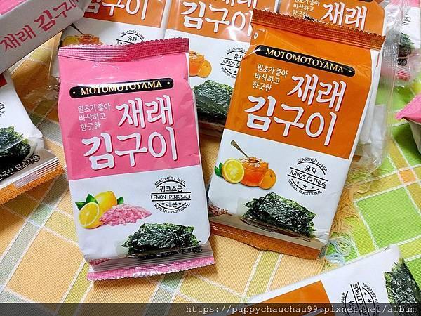 MOTOMOTOYAMA朝鮮海苔--檸檬玫瑰鹽風味:柚香風味(10).jpg
