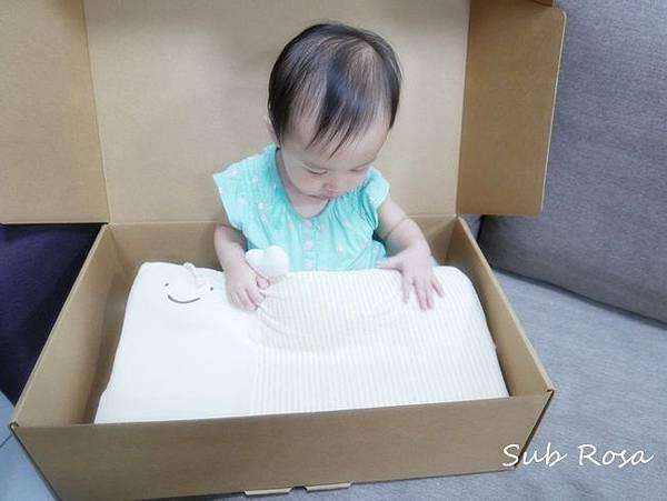 cani有機棉透氣護頭嬰兒枕(0-2.5歲) (9)