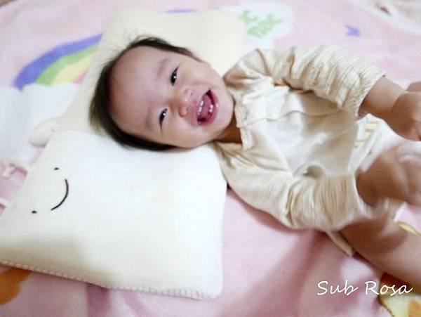 cani有機棉透氣護頭嬰兒枕(0-2.5歲) (13)