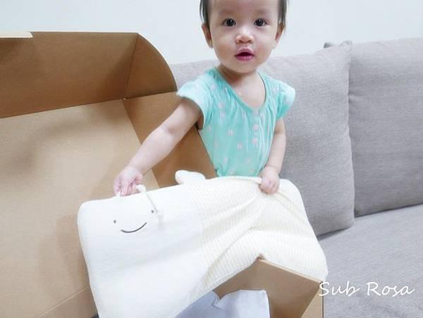 cani有機棉透氣護頭嬰兒枕(0-2.5歲) (8)