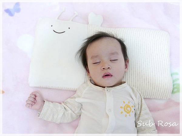 cani有機棉透氣護頭嬰兒枕(0-2.5歲) (15)