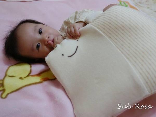 cani有機棉透氣護頭嬰兒枕(0-2.5歲) (11)