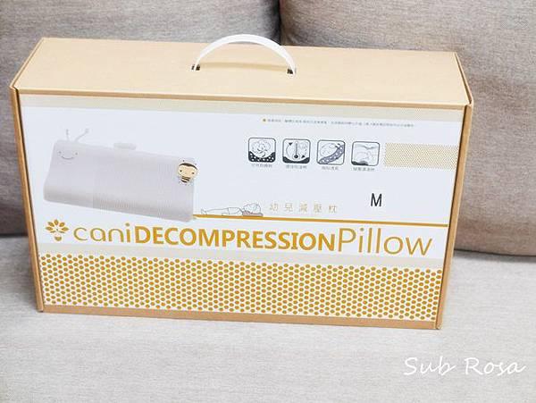 cani有機棉透氣護頭嬰兒枕(0-2.5歲) (1)