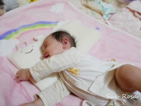 cani有機棉透氣護頭嬰兒枕(0-2.5歲) (12)