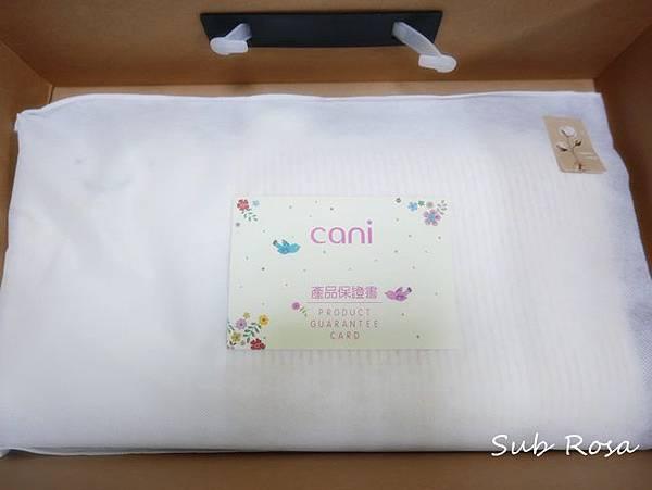 cani有機棉透氣護頭嬰兒枕(0-2.5歲) (5)