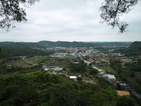 劍潭古道上遠眺