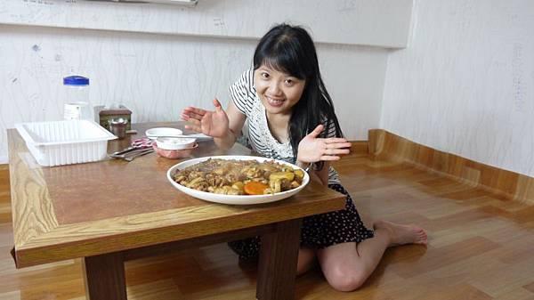 超大盤的正港安東燒雞.JPG