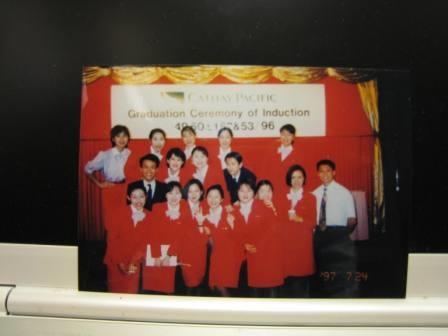 國泰航空空姐團體照